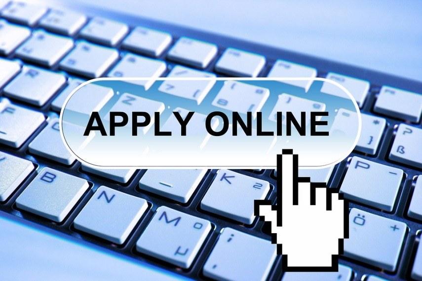 Online Bewerbungsformular ausfüllen